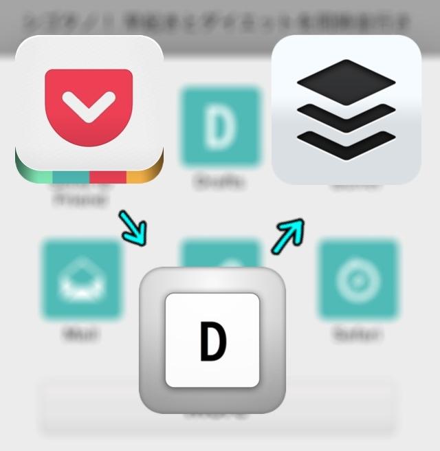 Drafts連携でPocket→Bufferにスマートに投稿!Pocketがバージョン4.5.2にアップデート!
