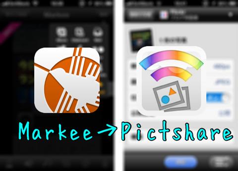 カメラロールの画像を増やさずにブログ用画像をアップロードできる!Markeeがバージョン1.11.0にアップデート!