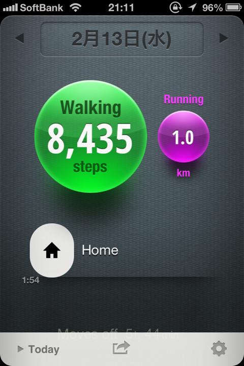 ライフログを自動計測!iPhoneアプリMovesは新世代の歩数計だ(注意点あり)