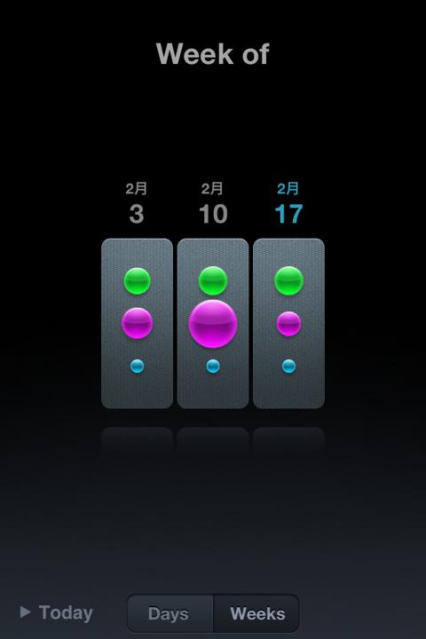 ライフログが自動計測できるiPhoneアプリMovesがアップデート!過去履歴がカッコよく見られるようになった!