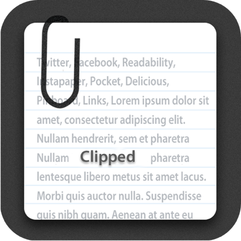 Facebook→Pocketにリンクを送るにもClippedが便利!