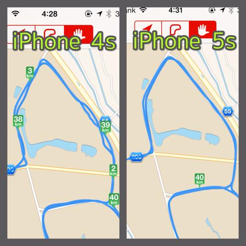 iPhone 5sのGPS精度ってどうなの?フルマラソンを走って調べてみた