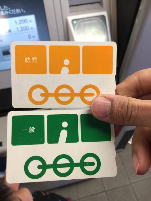 鉄道博物館入館用カード
