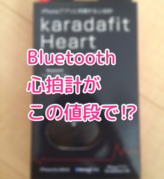 【カラダフィットハート 心拍センサー HRM-10 】え?2,980円の心拍計って安くない?大丈夫かどうかさっそく試してみた!